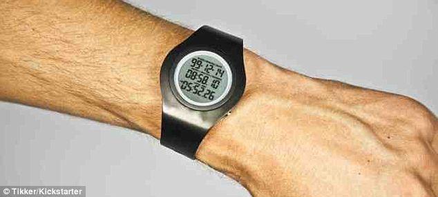 تصاویر ساعتی که به شما می گوید چند سال و چند روز و چند ساعت دیگر می میرید