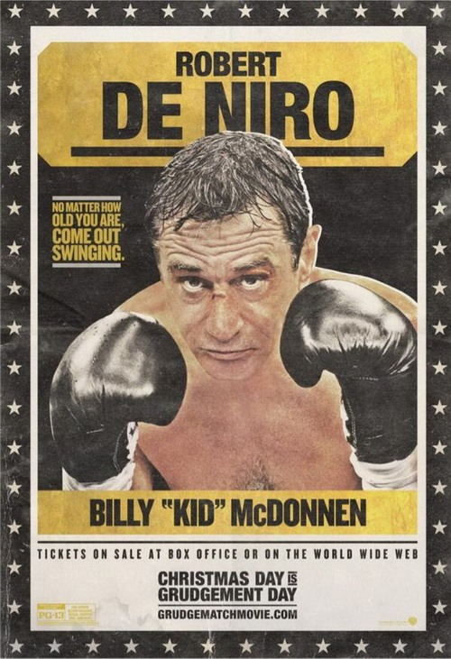 پوستر فیلم «مسابقه دشمنی» با بازی رابرت دنیرو