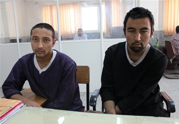 قاسم و سخی، 2 زورگیر و قاتل افغانی