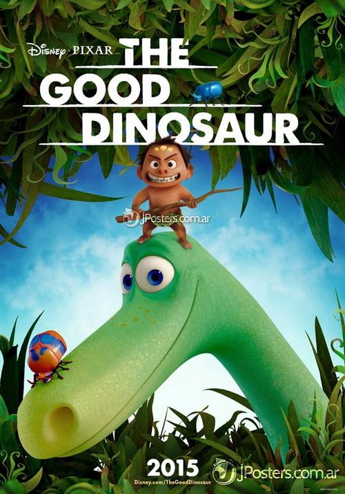 پوستر کارتون «دایناسور خوب»