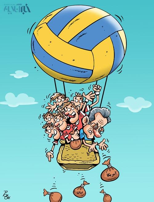 پیروزی والیبالیستهای تیم ملی