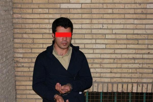 ابوالفضل 28 ساله شکارچی شیطان صفتی که اقدام به آزار و اذیت 5 دختر بچه کرد