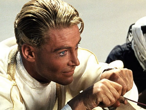 پیتر اوتول در فیلم «لورنس عربستان»
