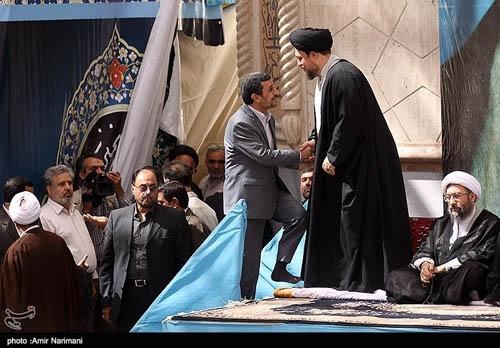 حضور سران سه قوه در مراسم سالگرد ارتحال امام خمینی