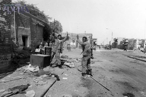 عکس های جنگ سعید صادقی