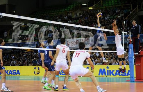 والیبال ایران ایتالیا