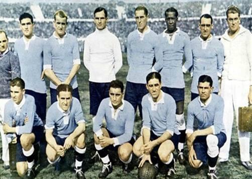 تیم ملی اروگوئه،نخستین قهرمان جام جهانی