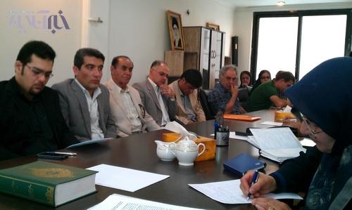 ملاقات فعالان محیط زیست با دکتر عارف