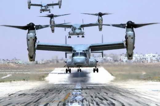 هواپیمای ترابری عمودپرواز V22