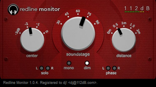 Redline Monitor/ ادیت و گوش دادن به فایل های صوتی با هدفون