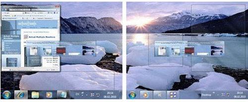 Actual Multiple Monitors 8.0.3/ برای کاربران چند مانیتوره