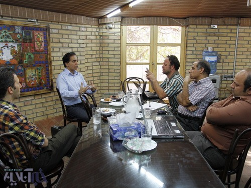 رضا بهشتی پور در کافه خبر