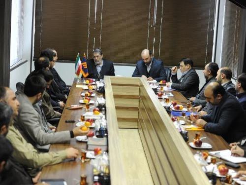 دیدار اصغر پور محمدی با مدیران شبکه سوم