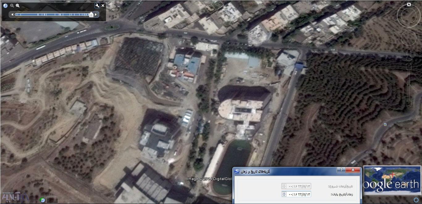 عکس هوایی 31 امرداد 93 از شهرک شهید دقایقی