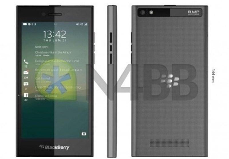 گوشی جدید بلک بری Z20