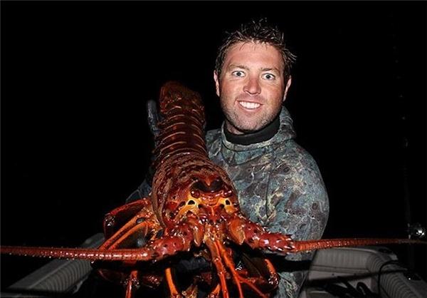 صید خرچنگ غول پیکر