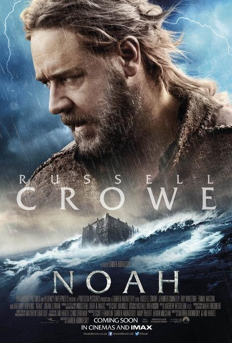 پوستر فیلم «نوح» با بازی راسل کرو