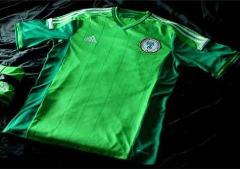 پیراهن تیم ملی نیجریه در جام جهانی 2014
