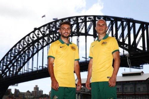 پیراهن تیم ملی استرالیا در جام جهانی 2014
