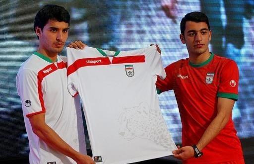 پیراهن تیم ملی ایران