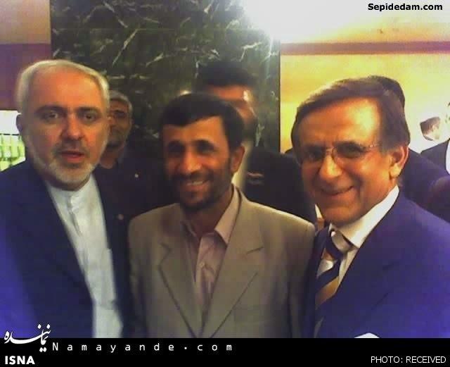 محمدجواد ظریف,محمود احمدینژاد