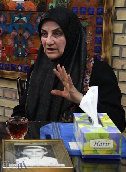 خانم نعیمی مادر مسعود نعیمی