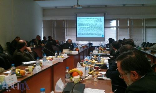 جلسه کارگروه احیای مرحلهای دریاچه ارومیه - 11 فروردین 93