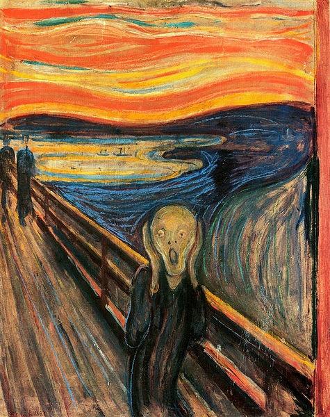 «جیغ» اثر ادوارد مونک