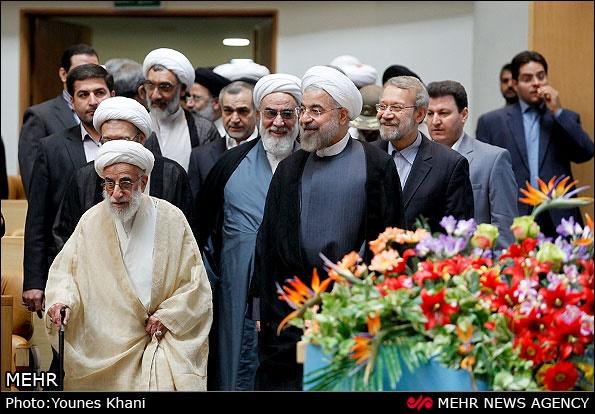حسن روحانی,صادق لاریجانی,قوه قضاییه,علی لاریجانی