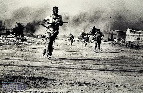 عکس جنگ - عکاس امیر علی جوادیان