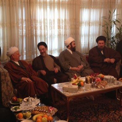 سید حسن خمینی,اکبر هاشمی رفسنجانی