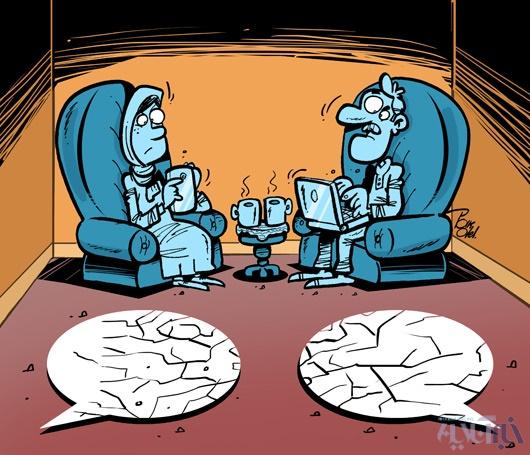 15 11 1 13834alireza pakdel khabar 2 1 کاریکاتور / رکورد جدید همسران ایرانی!