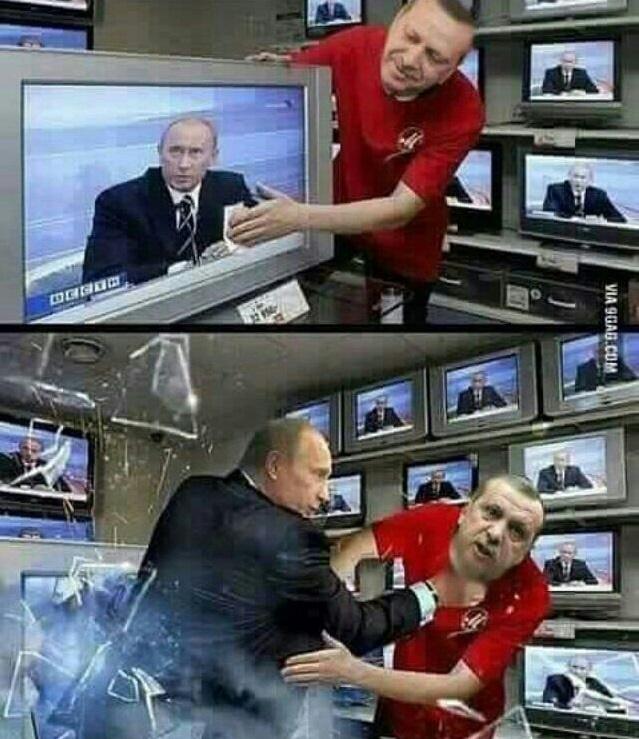 رجب طیب اردوغان,ولادیمیر پوتین
