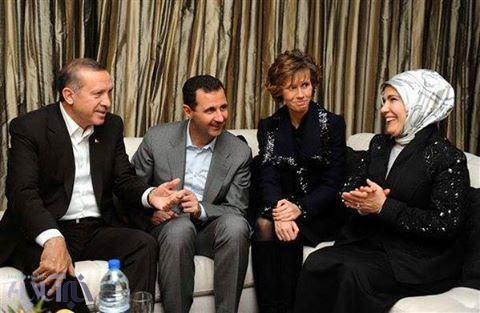 رجب طیب اردوغان,بشار اسد