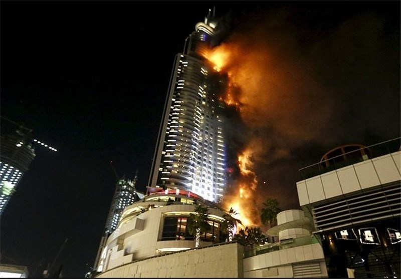 15 12 31 232321139410102224552366823964 - آتش در هتل آدرس دوبی/ عکس