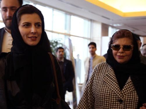 لیلا حاتمی و مادرش
