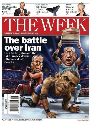 مذاکرات هسته ایران با 5 بعلاوه 1,بنیامین نتانیاهو,باراک اوباما