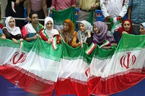 تماشاگران ایرانی در کازان