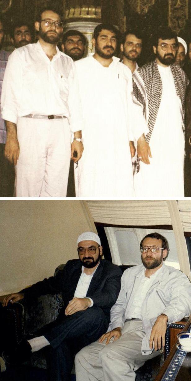محسن رضایی,علی شمخانی,علی لاریجانی