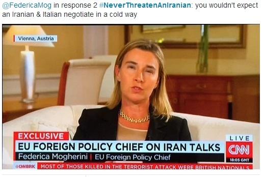 فدریکا موگرینی,مذاکرات هسته ای ایران با 5 بعلاوه 1,محمدجواد ظریف
