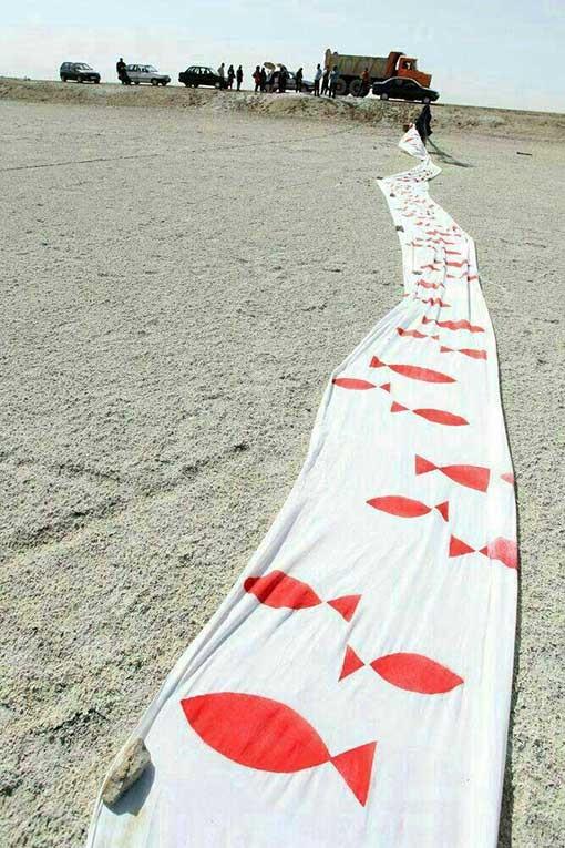 کاریکاتور معصومه ابتکار عکس دریاچه ارومیه سوابق معصومه ابتکار دریاچه ارومیه