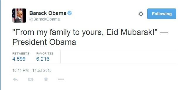 توئیتر,باراک اوباما