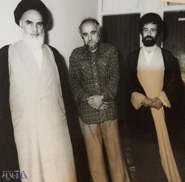 محمدرضا حکیمی,سید احمد خمینی,امام خمینی ره