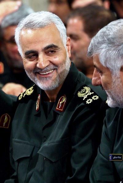 قاسم سلیمانی,سپاه پاسداران