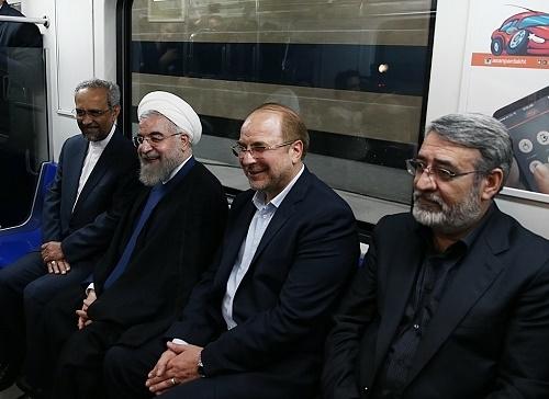 حسن روحانی,محمد باقر قالیباف