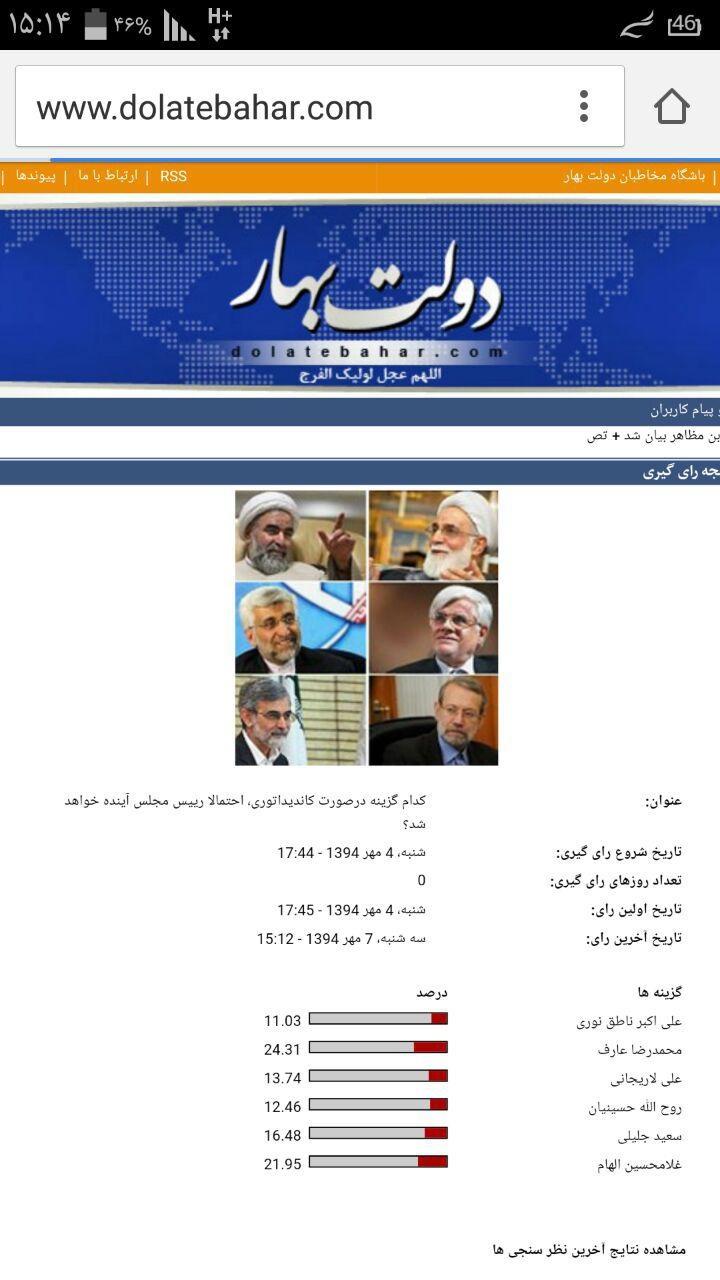 محمد رضا عارف,غلامحسین الهام,انتخابات مجلس دهم