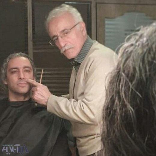 تست گریم مازیار فلاحی برای حضور در فیلم سینمایی «یادم تو رو فراموش»
