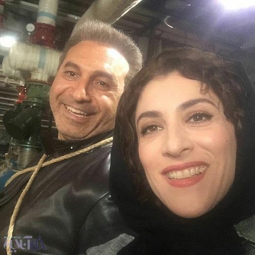 ویشکا آسایش و حمید فرخنژاد در فیلم سینمایی خوب، بد، جلف