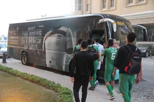 اتوبوس تیم امید
