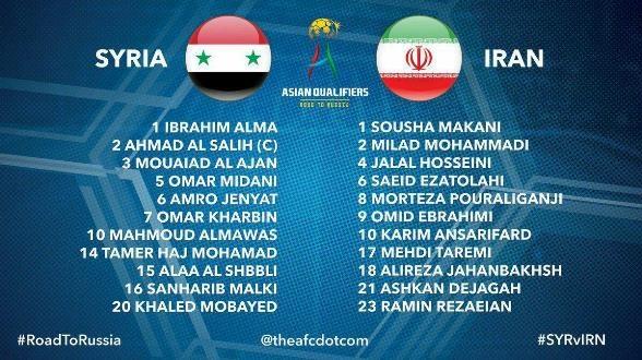 ترکیب ایران و سوریه